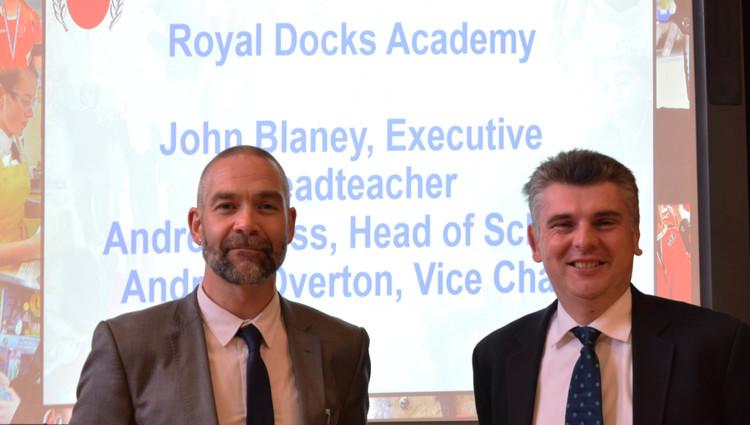 Royal Docks Academy relaunch