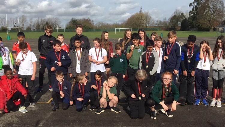 Primary pupils become triathletes