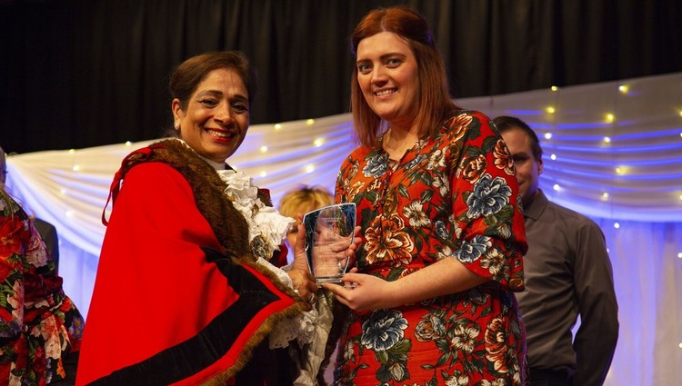 Teacher awarded for supporting young people
