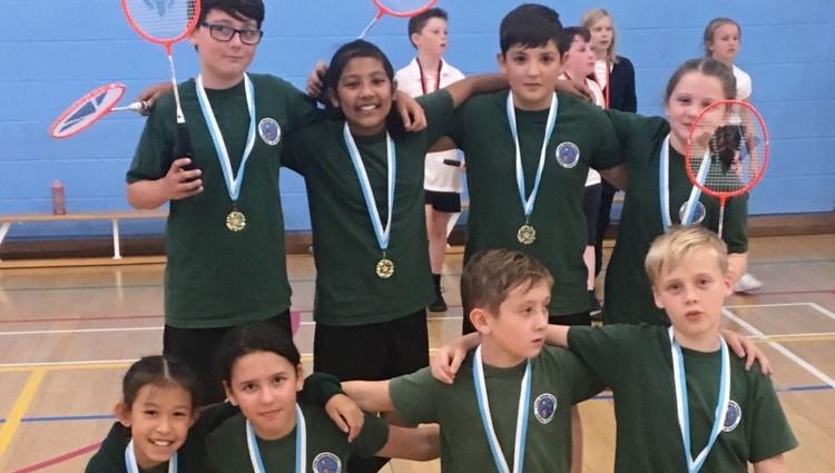 Primary children thrive at sport