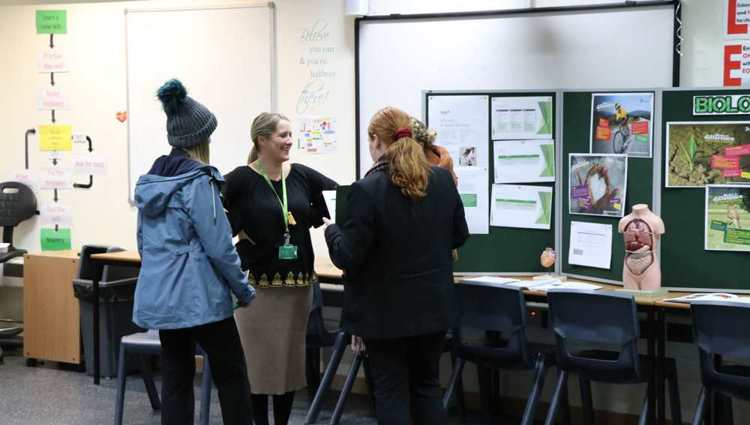 Families flock to unique sixth form