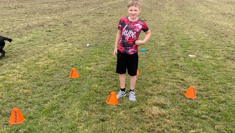 Primaries compete in virtual sports day