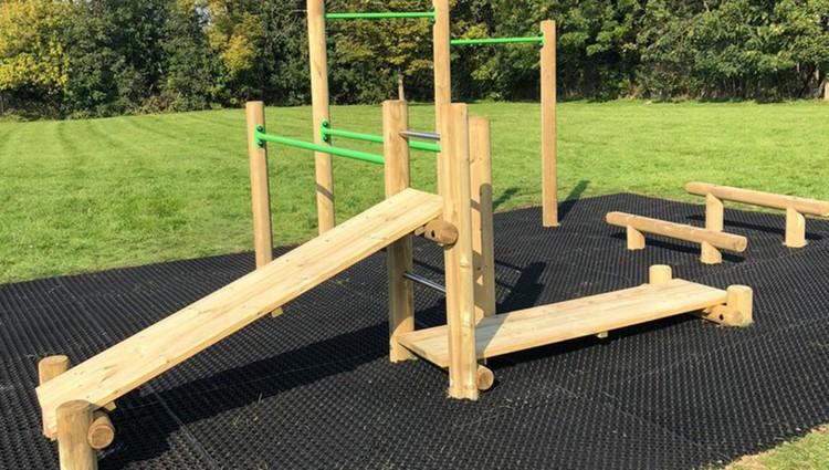 Schools invest in outdoor gyms