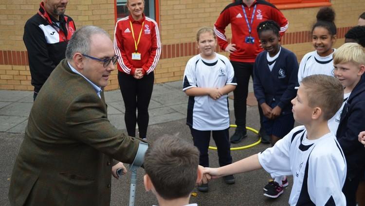 PE Apprentices welcome MP Robert Halfon visit